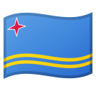 Flag: Aruba on Google Android 10.0