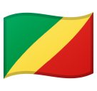 Flag: Congo - Brazzaville on Google Android 10.0