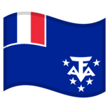 Flag: French Southern Territories on Google Android 10.0