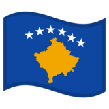 Flag: Kosovo on Google Android 10.0