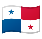 Flag: Panama on Google Android 10.0