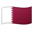 Flag: Qatar on Google Android 10.0
