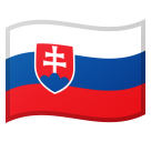 Flag: Slovakia on Google Android 10.0