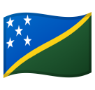 Flag: Solomon Islands on Google Android 10.0