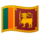 Flag: Sri Lanka on Google Android 10.0