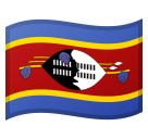 Flag: Eswatini on Google Android 10.0
