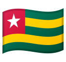 Flag: Togo on Google Android 10.0
