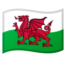 Flag: Wales on Google Android 10.0