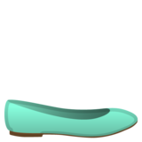 Flat Shoe on Google Android 10.0