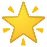 Glowing Star on Google Android 10.0