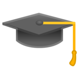 Graduation Cap on Google Android 10.0