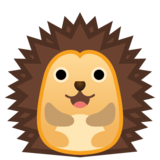 Hedgehog on Google Android 10.0