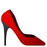 High-Heeled Shoe on Google Android 10.0