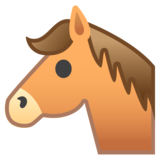 Horse Face on Google Android 10.0