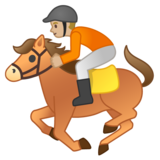 Horse Racing: Medium-Light Skin Tone on Google Android 10.0