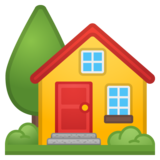 House with Garden on Google Android 10.0