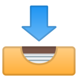Inbox Tray on Google Android 10.0