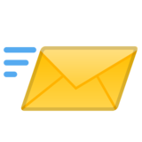 Incoming Envelope on Google Android 10.0