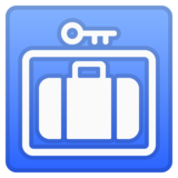 Left Luggage on Google Android 10.0