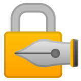 Locked with Pen on Google Android 10.0
