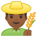 Man Farmer: Medium-Dark Skin Tone on Google Android 10.0