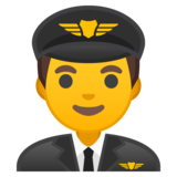 Man Pilot on Google Android 10.0