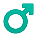 Male Sign on Google Android 10.0