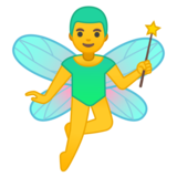 Man Fairy on Google Android 10.0