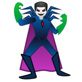 Man Supervillain on Google Android 10.0