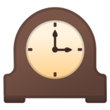 Mantelpiece Clock on Google Android 10.0