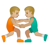 Men Wrestling, Type-3 on Google Android 10.0