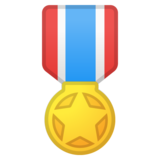 Military Medal on Google Android 10.0