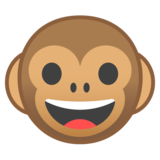 Monkey Face on Google Android 10.0