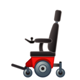 Motorized Wheelchair on Google Android 10.0