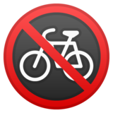 No Bicycles on Google Android 10.0