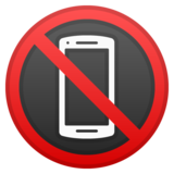 No Mobile Phones on Google Android 10.0