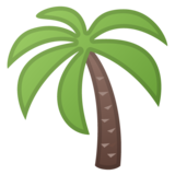Palm Tree on Google Android 10.0