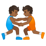 Wrestlers, Type-5 on Google Android 10.0