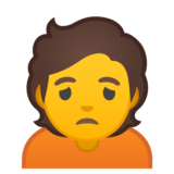 Person Frowning on Google Android 10.0