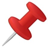 Pushpin on Google Android 10.0