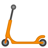 Kick Scooter on Google Android 10.0
