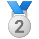 2nd Place Medal on Google Android 10.0