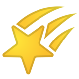 Shooting Star on Google Android 10.0