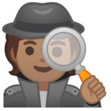 Detective: Medium Skin Tone on Google Android 10.0