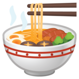 Steaming Bowl on Google Android 10.0