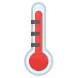 Thermometer on Google Android 10.0