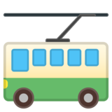 Trolleybus on Google Android 10.0