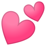 Two Hearts on Google Android 10.0