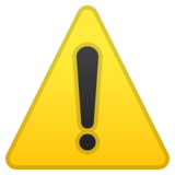 Warning on Google Android 10.0