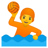 Person Playing Water Polo on Google Android 10.0